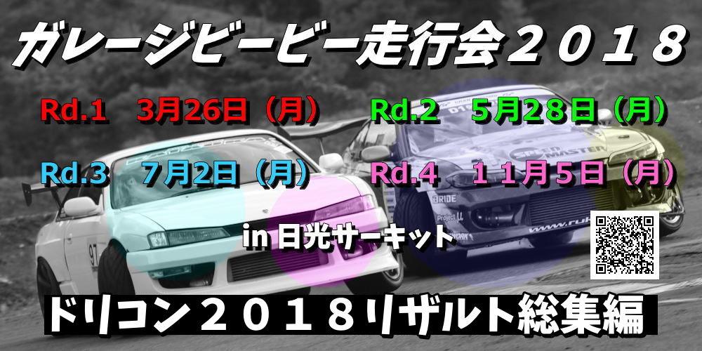 ガレージビービー杯2018リザルト総集編
